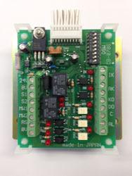 組み込み基盤型電気錠制御ユニット